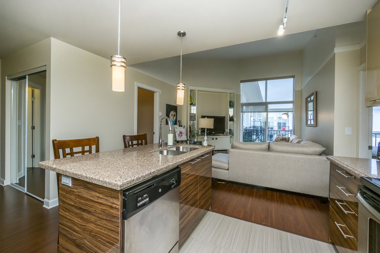 Kitchen -Listed by Solon REM, Top Langley & Fraser Valley Realtor  at 425 - 12039 64, West Newton, Surrey