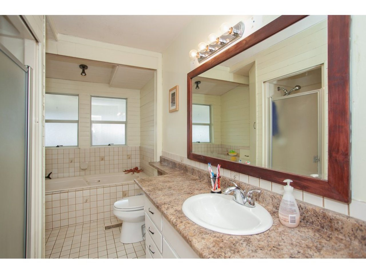 Bathroom-Listed by Solon REM, Top Langley & Fraser Valley Realtor  at 19943 Brydon, Langley City, Langley