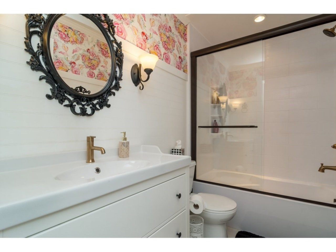 Bathroom -Listed by Solon REM, Top Langley & Fraser Valley Realtor  at 7498 116a, Scottsdale, N. Delta