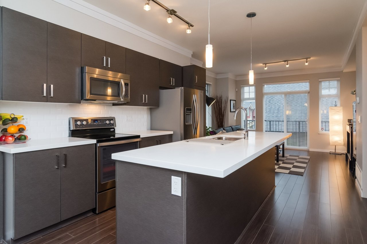 Gourmet Kitchen -Listed by Solon REM, Top Langley & Fraser Valley Realtor  at 19 - 13886 62, Surrey