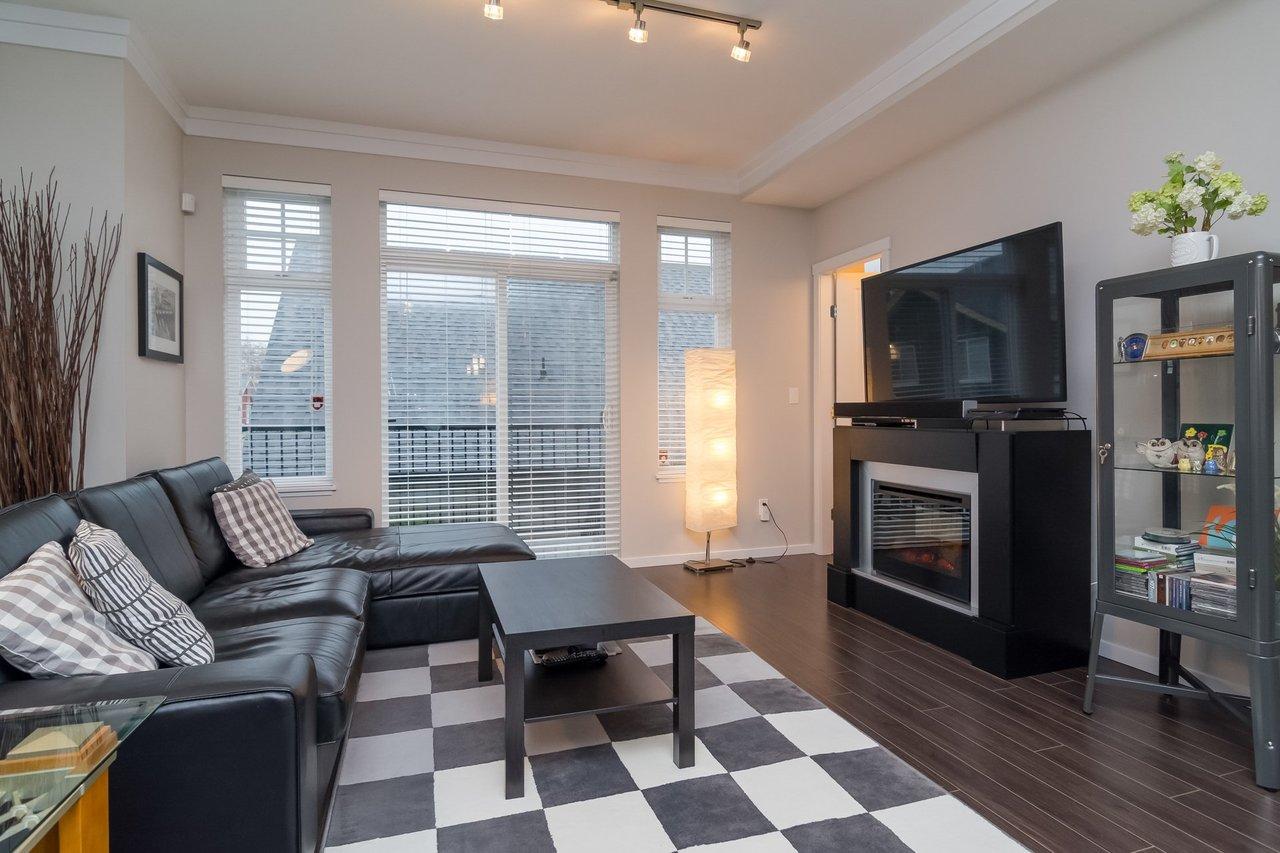 Living Room -Listed by Solon REM, Top Langley & Fraser Valley Realtor  at 19 - 13886 62, Surrey