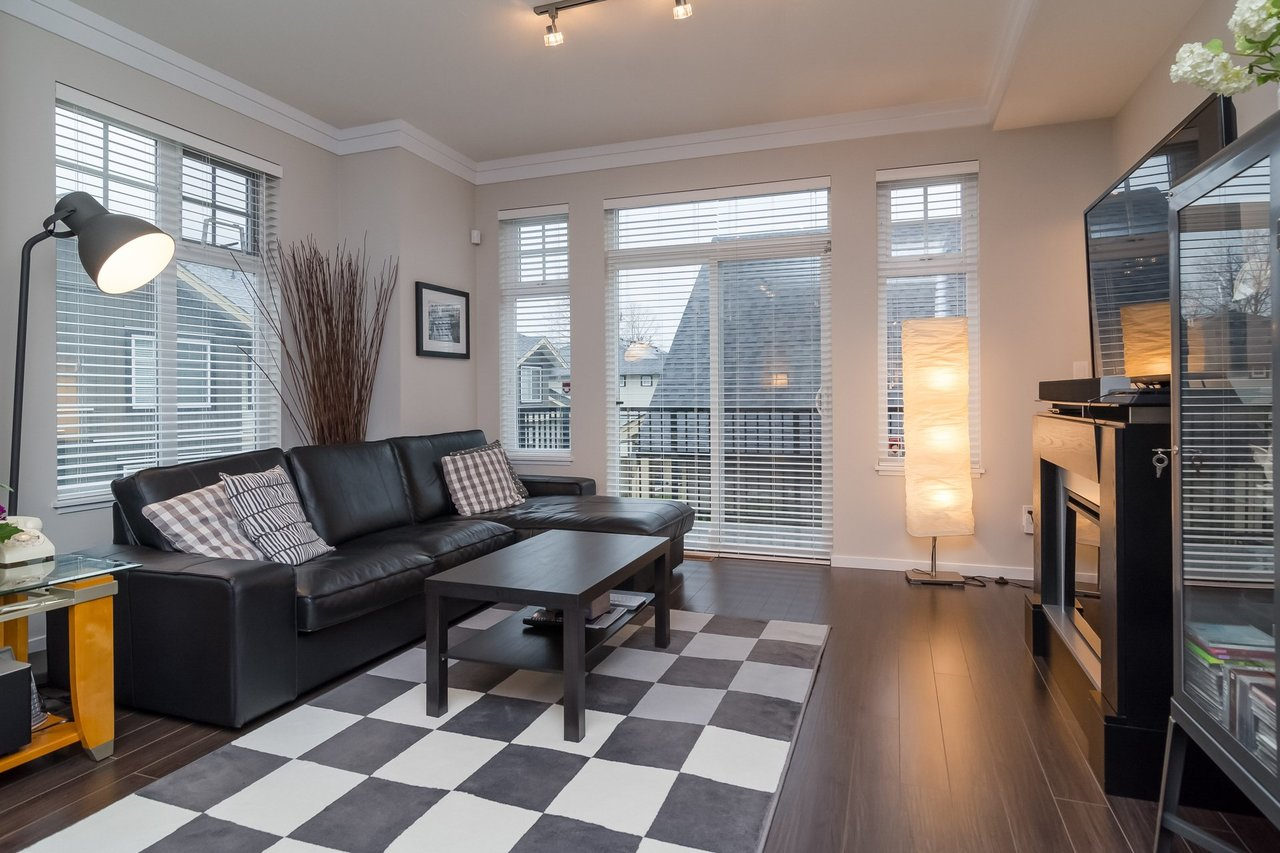 Living Room -Listed by Solon REM, Top Langley & Fraser Valley Realtor  at 19 - 13886 62, Surrey