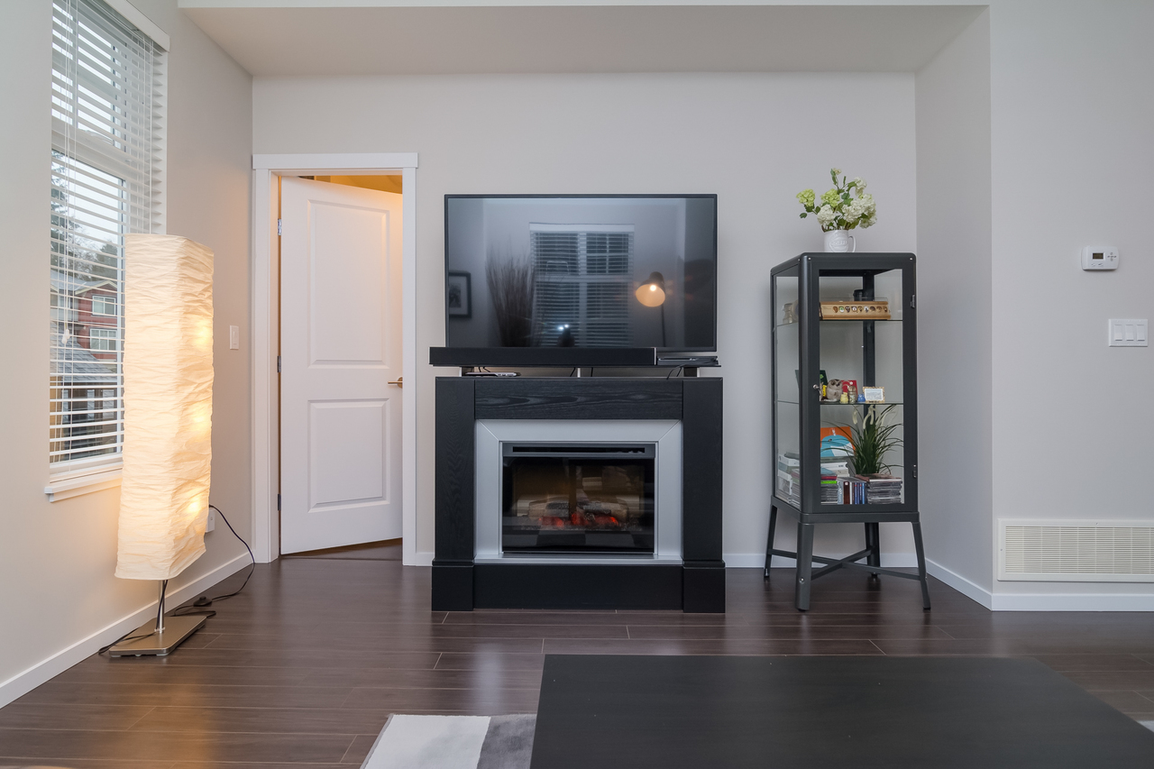 Fireplace -Listed by Solon REM, Top Langley & Fraser Valley Realtor  at 19 - 13886 62, Surrey