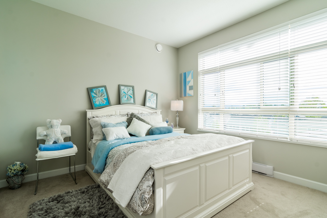 Master Bedroom -Listed by Solon REM, Top Langley & Fraser Valley Realtor  at 413 - 20861 83rd Avenue, Langley