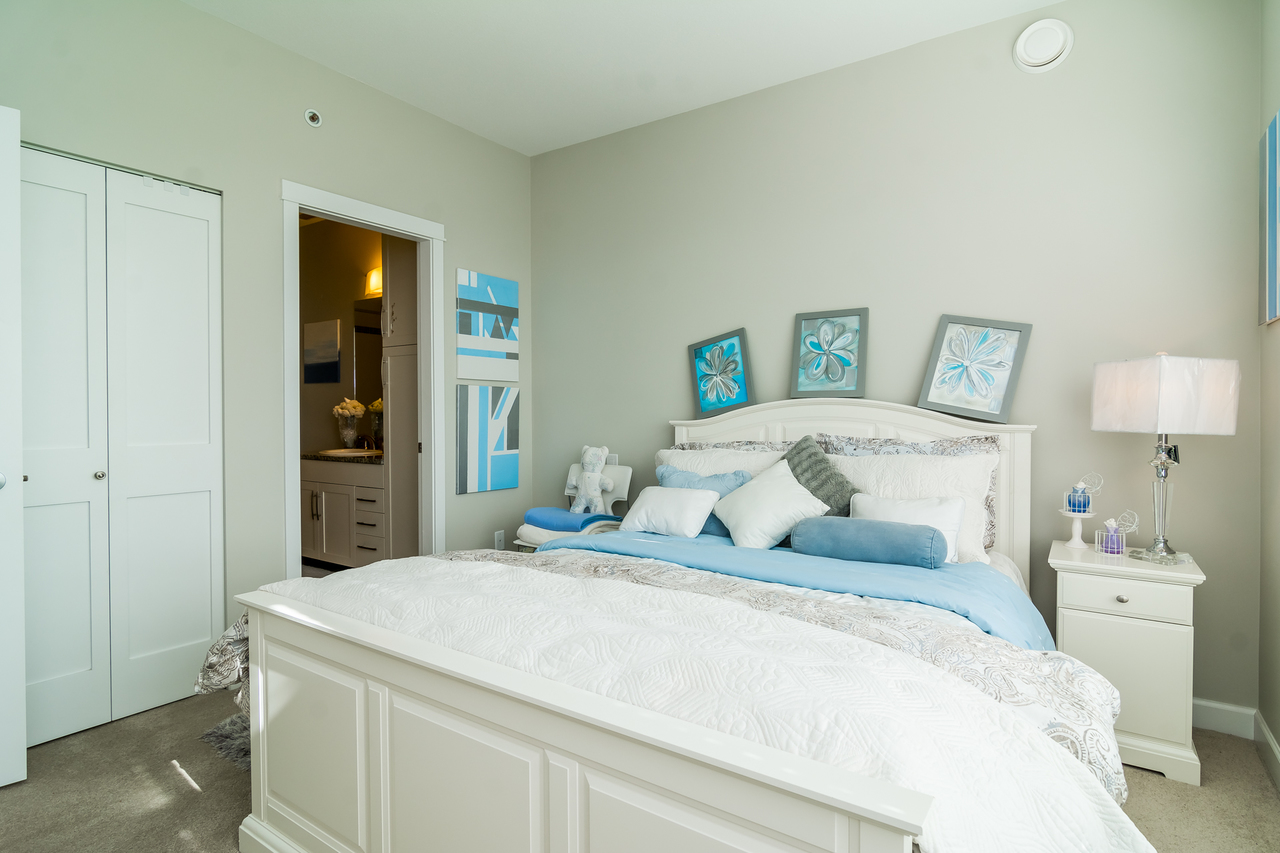 Master Bedroom-Listed by Solon REM, Top Langley & Fraser Valley Realtor  at 413 - 20861 83rd Avenue, Langley