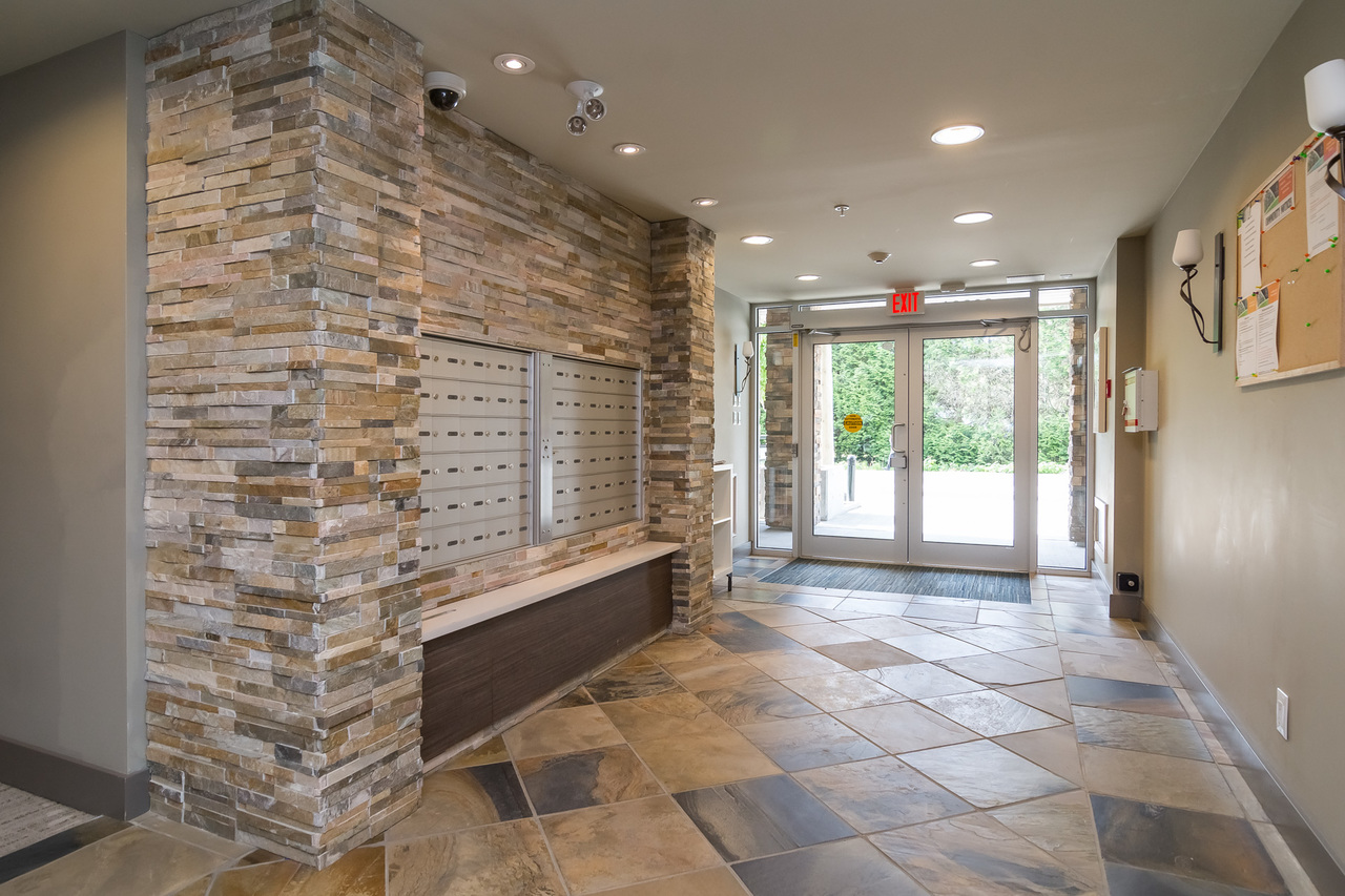 Lobby -Listed by Solon REM, Top Langley & Fraser Valley Realtor  at 413 - 20861 83rd Avenue, Langley