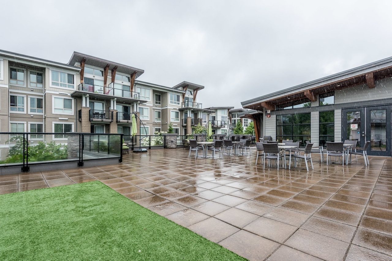 Rooftop Deck - Listed by Solon REM, Top Langley & Fraser Valley Realtor  at 219 - 6628 120th, West Newton, Surrey