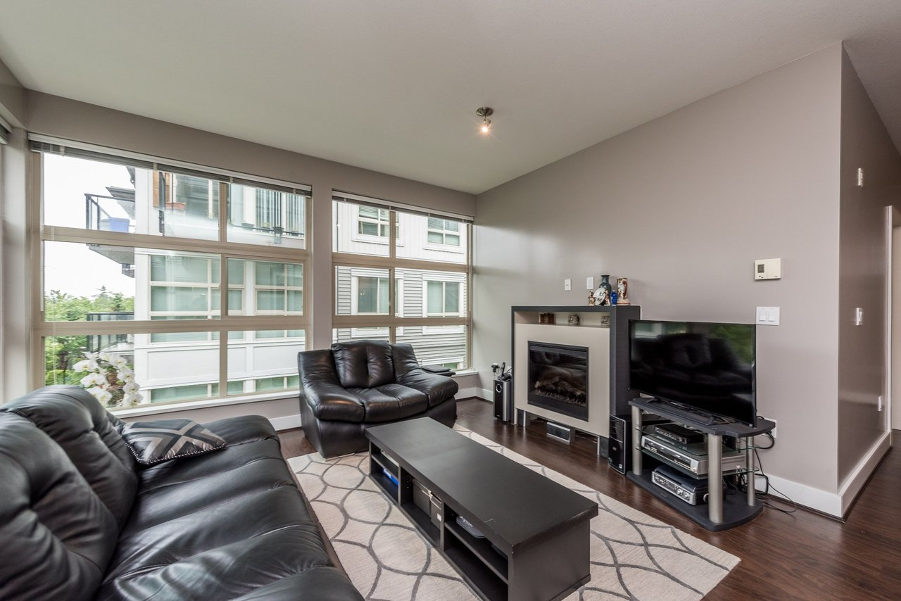 Living Room -Listed by Solon REM, Top Langley & Fraser Valley Realtor  at 219 - 6628 120th, West Newton, Surrey