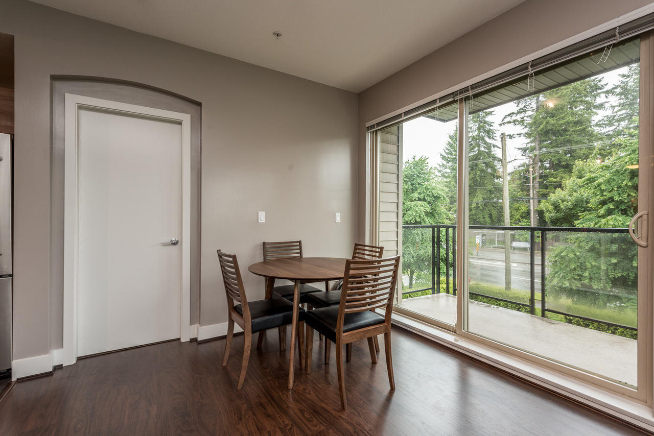 Dining Area-Listed by Solon REM, Top Langley & Fraser Valley Realtor  at 219 - 6628 120th, West Newton, Surrey