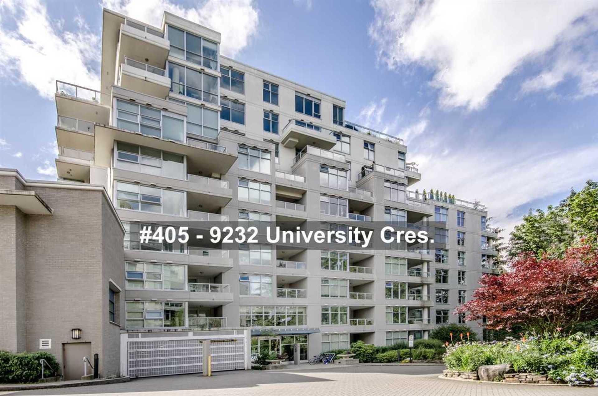 405 - 9232 University Crescent, Simon Fraser Univer., Burnaby North 2