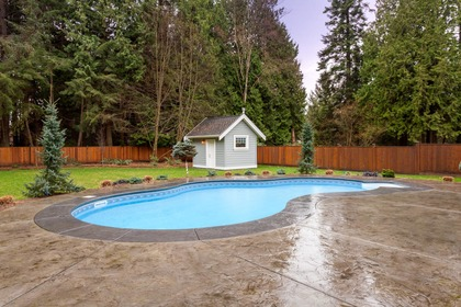 12642 23 Avenue Pool at 12642 23 Avenue, Crescent Bch Ocean Pk., South Surrey White Rock