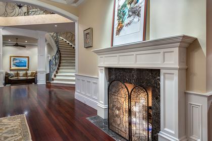 13778 marine drive fireplace at 13778 Marine Drive, White Rock, South Surrey White Rock