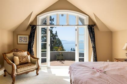 13778 marine drive master bedroom at 13778 Marine Drive, White Rock, South Surrey White Rock