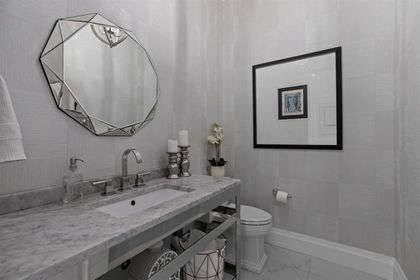16697 30A Avenue powder room at 16697 30a Avenue, Grandview Surrey, South Surrey White Rock