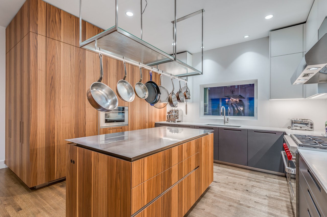 Custom kitchen at 2651 Mathers Avenue, Dundarave, West Vancouver