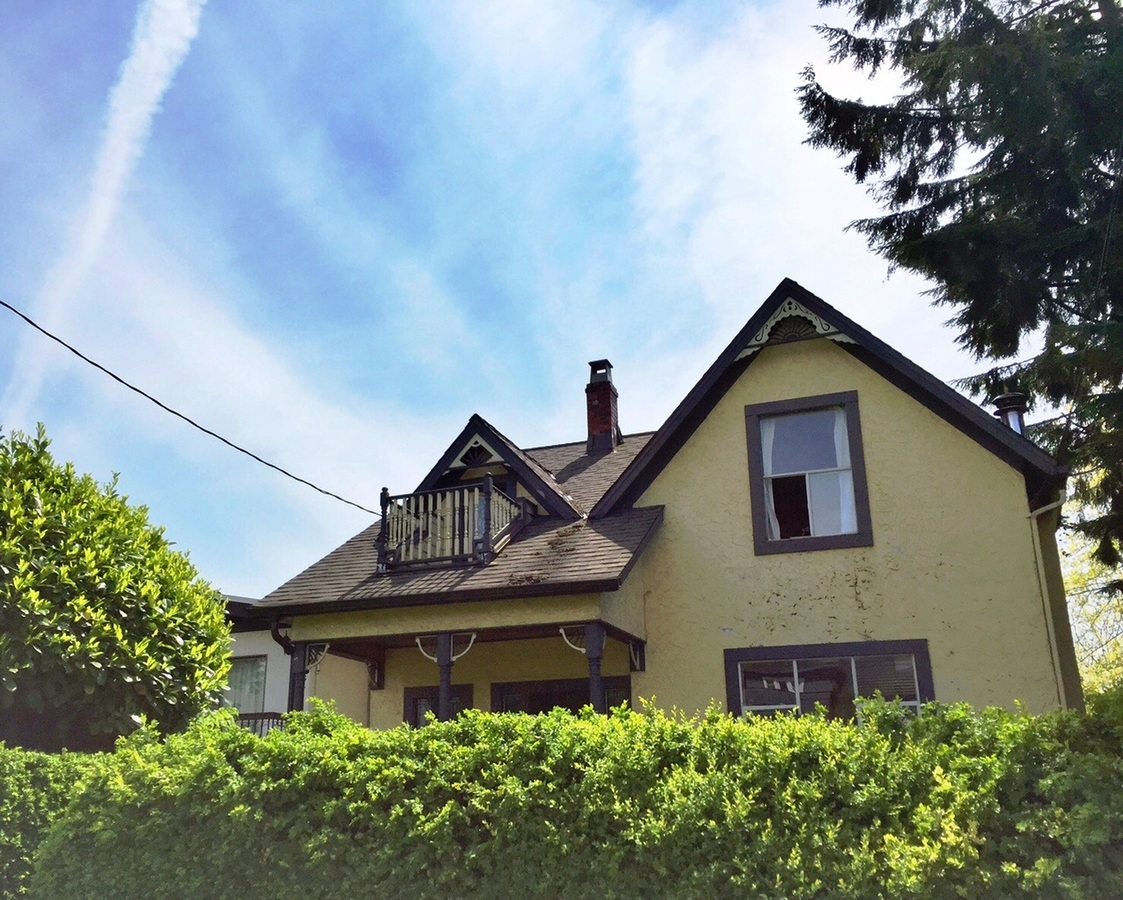 Front of home at 411 - Keith E , Queensbury, North Vancouver