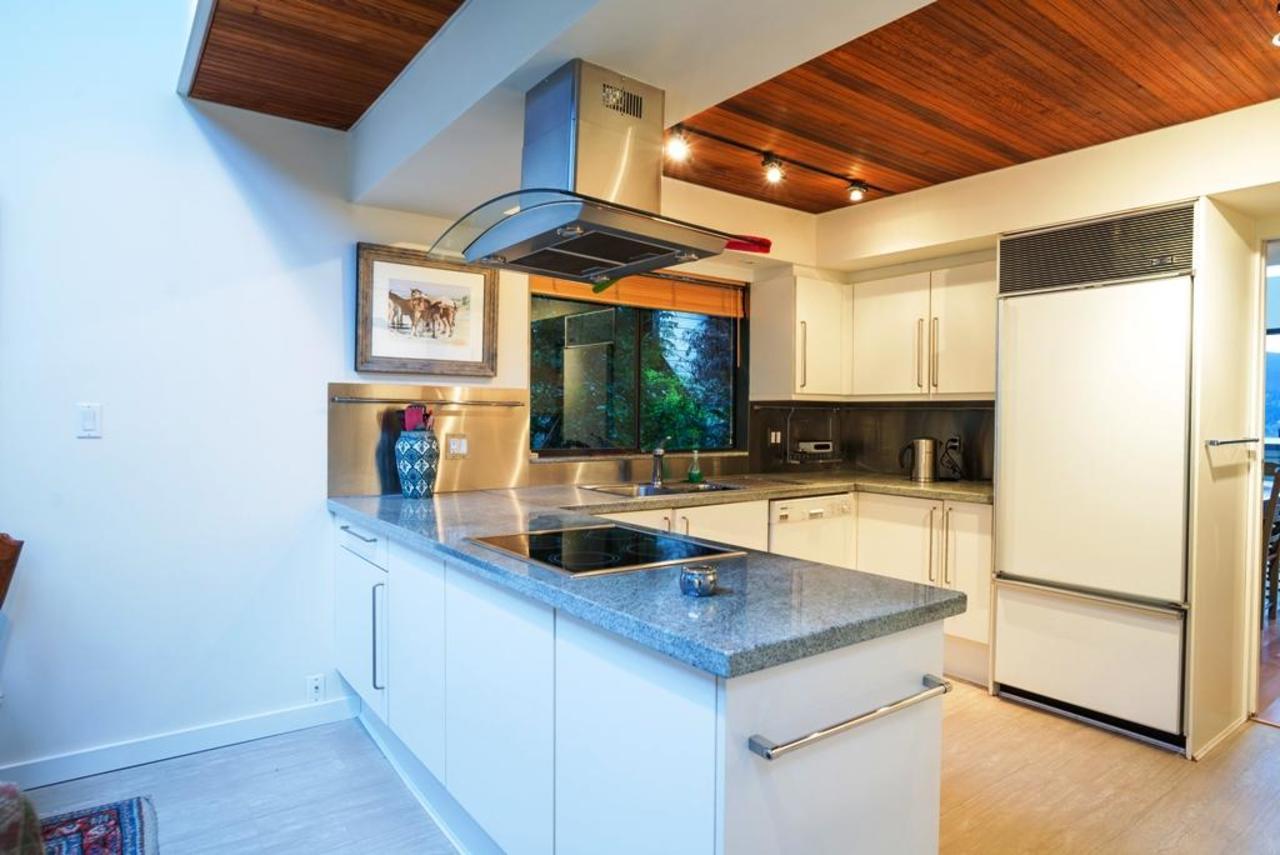 Kitchen at 6228 Wellington, Horseshoe Bay WV, West Vancouver