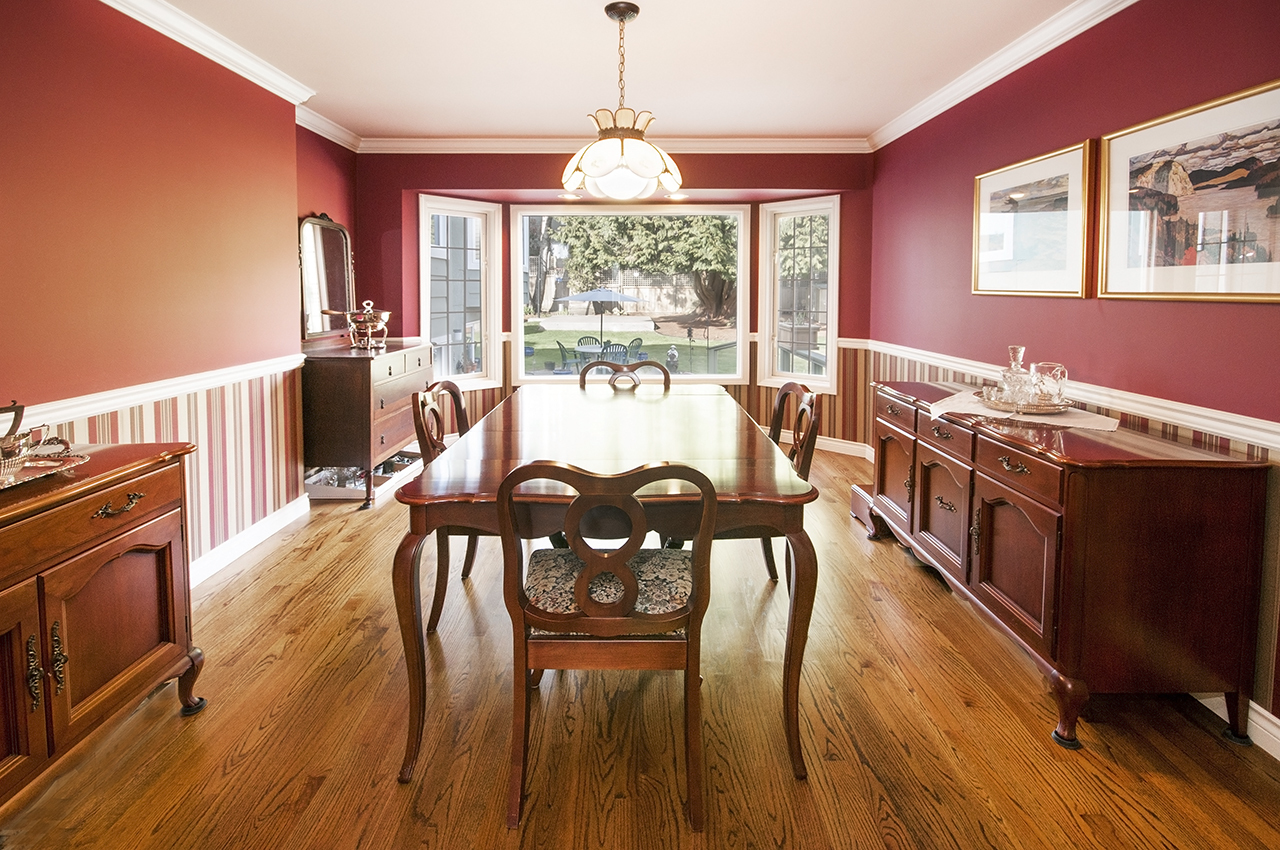 Dining Room at 1573 Kings Avenue, Ambleside, West Vancouver