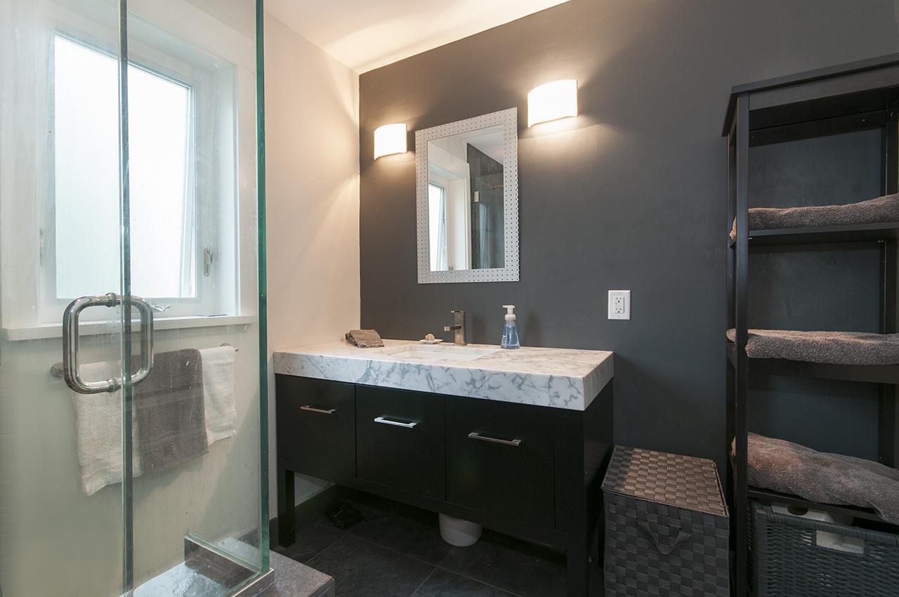 Bathroom at 6252 Wellington Avenue, Horseshoe Bay WV, West Vancouver