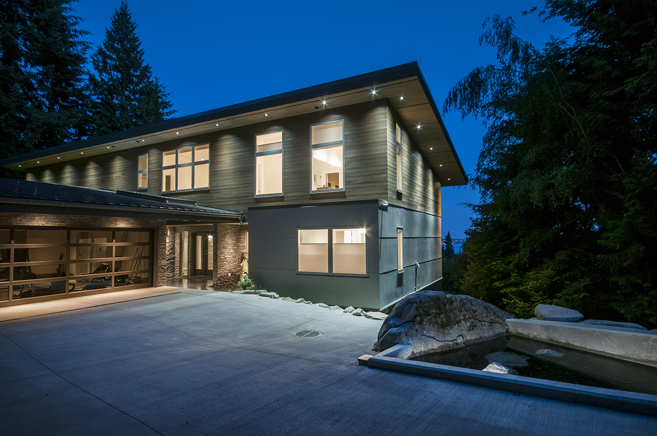 Front of Home at 3048 Spencer Court, Altamont, West Vancouver