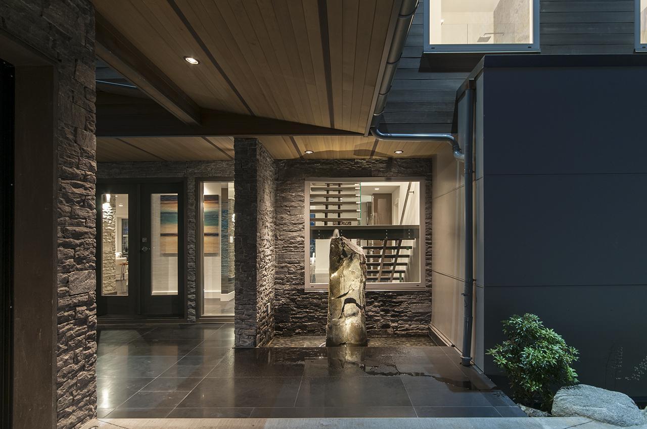 Front Entrance  at 3048 Spencer Court, Altamont, West Vancouver