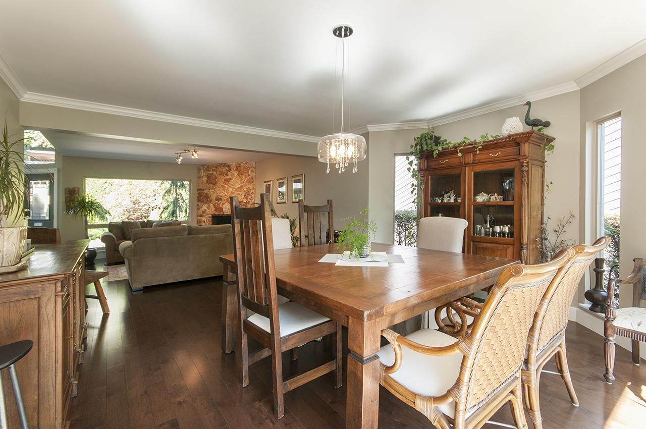 Dining Room  at 555 Palisade Drive, Canyon Heights NV, North Vancouver