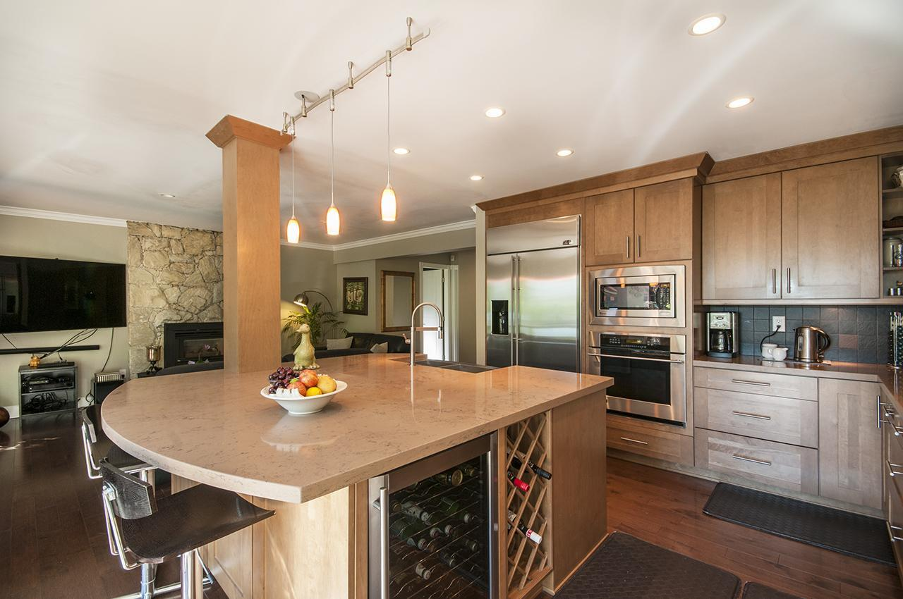 Kitchen at 555 Palisade Drive, Canyon Heights NV, North Vancouver