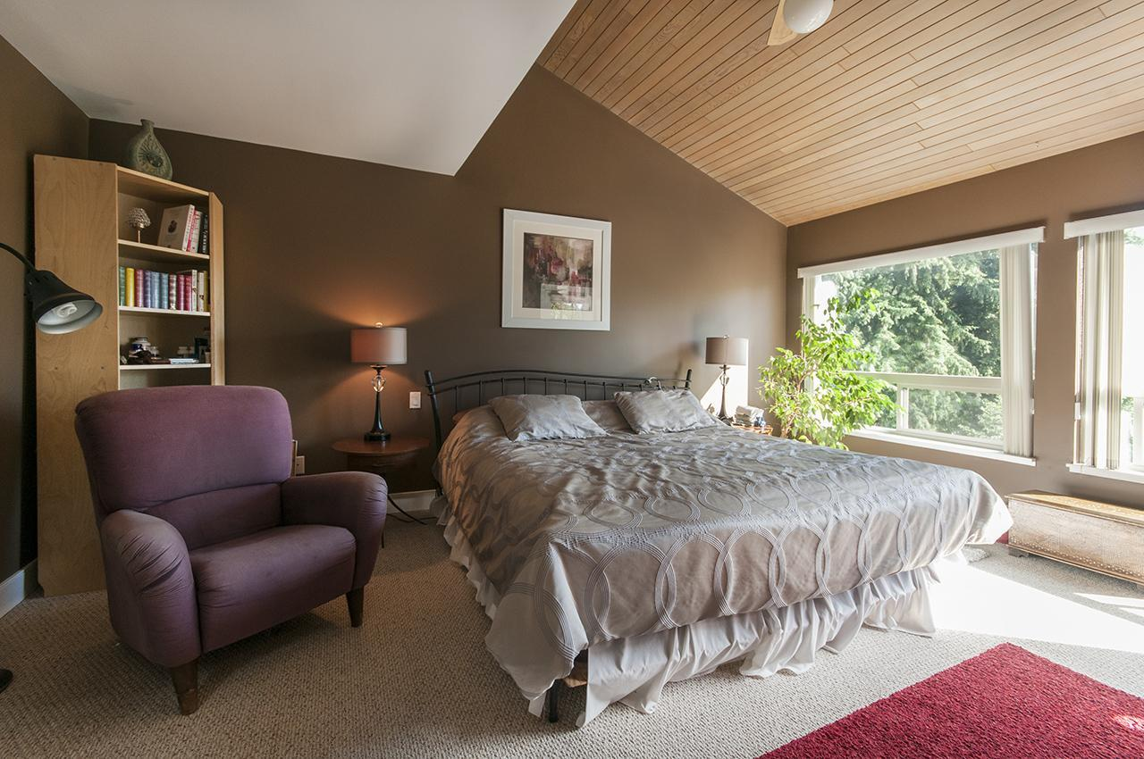 Master Bedroom at 555 Palisade Drive, Canyon Heights NV, North Vancouver