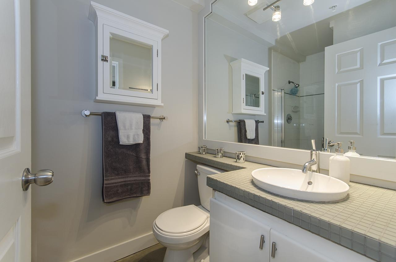 Bathroom at 303 - 2160 Cornwall Avenue, Kitsilano, Vancouver West