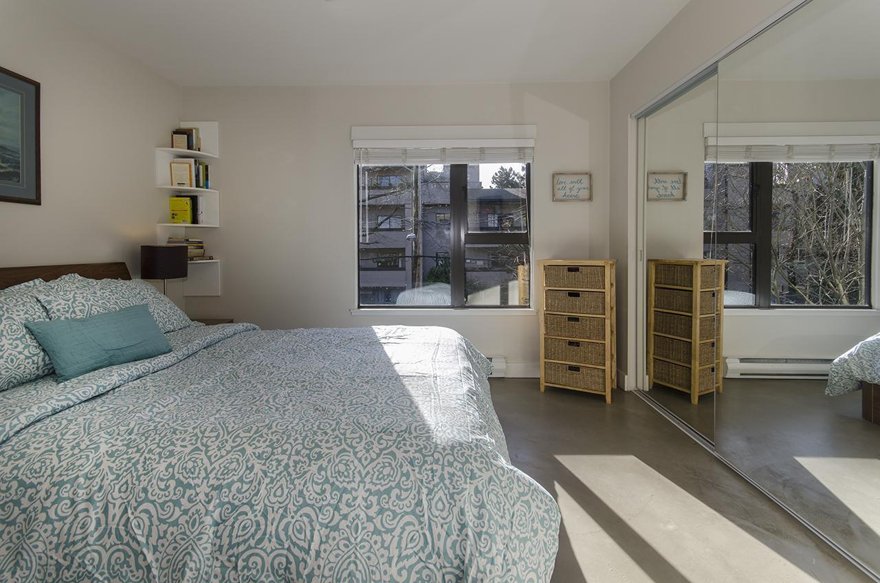 Master Bedroom  at 303 - 2160 Cornwall Avenue, Kitsilano, Vancouver West