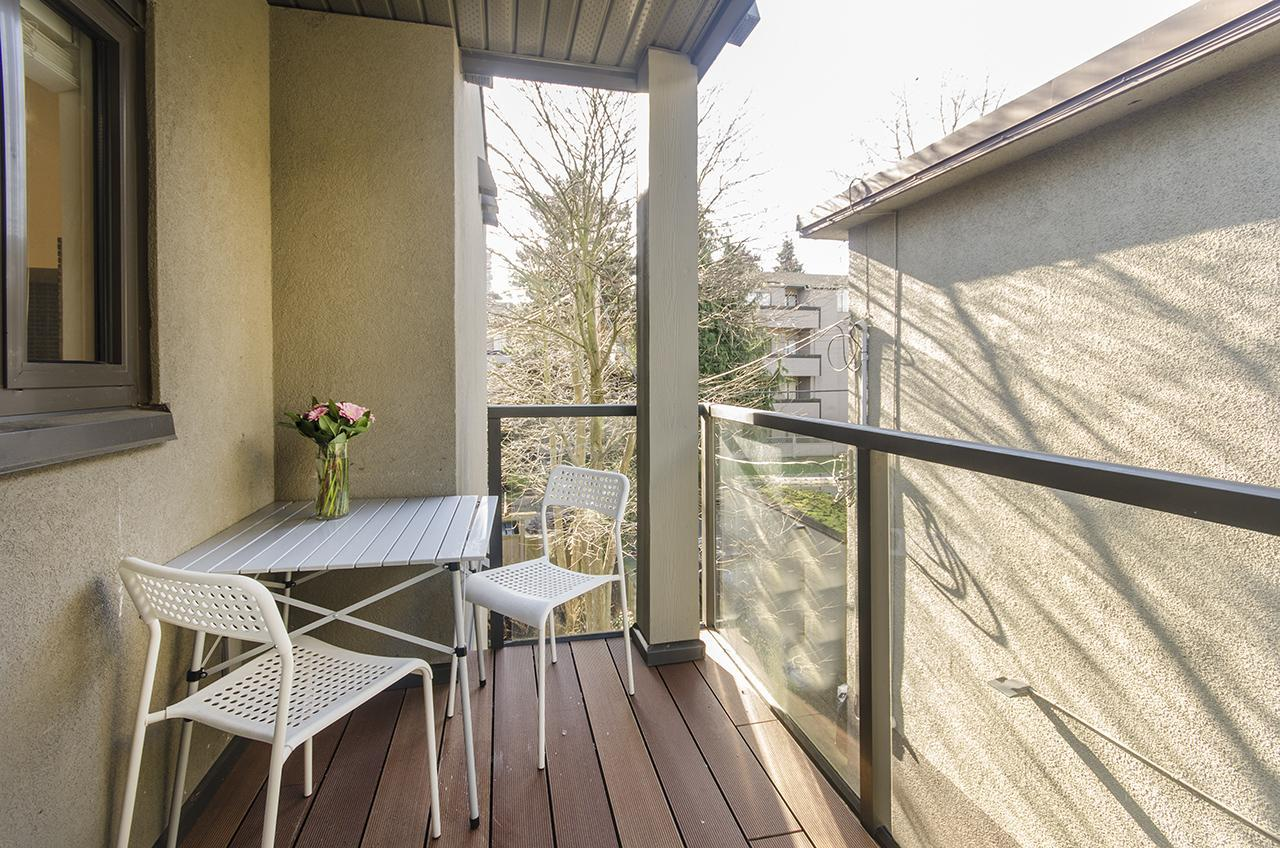 Balcony  at 303 - 2160 Cornwall Avenue, Kitsilano, Vancouver West
