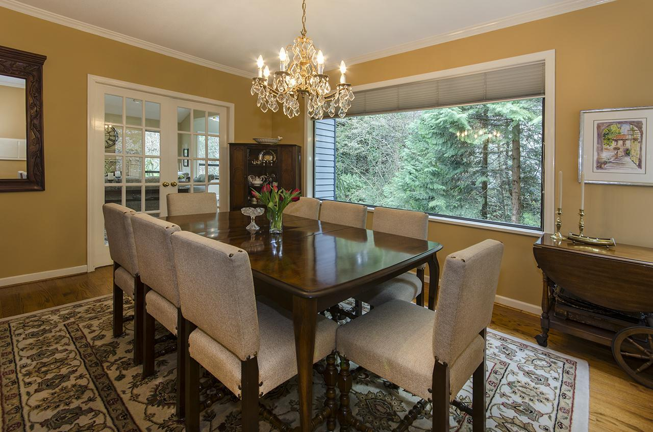 Dining Room at 1610 Palmerston Avenue, Ambleside, West Vancouver