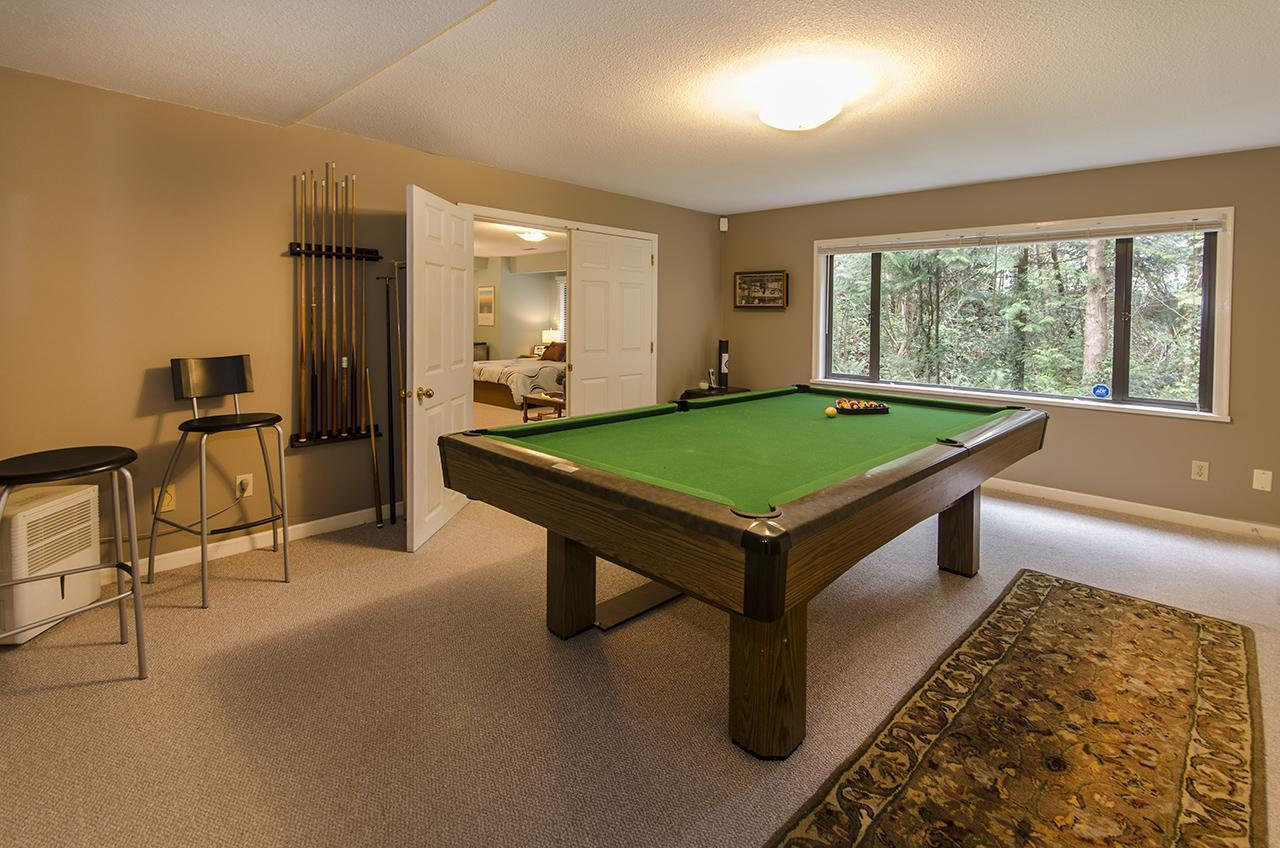 Rec Room at 1610 Palmerston Avenue, Ambleside, West Vancouver