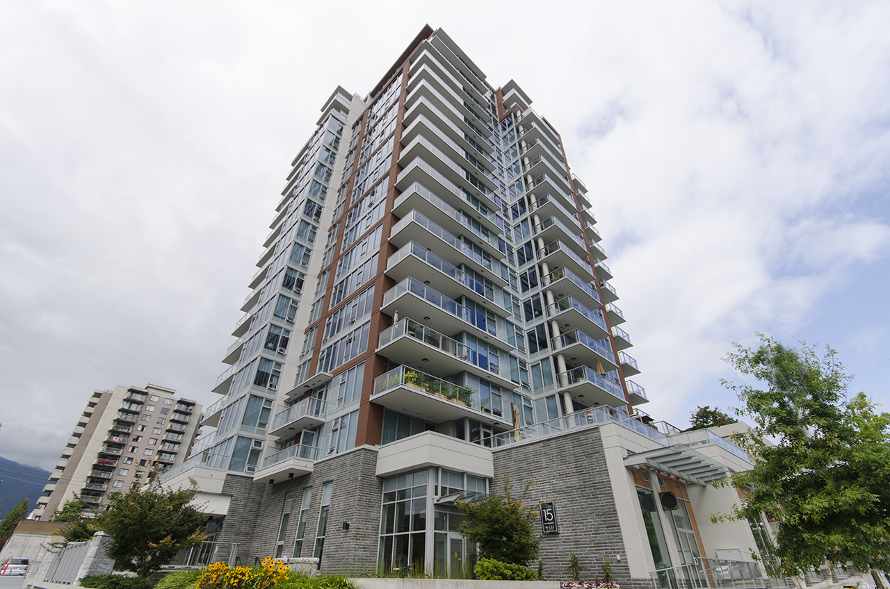 8183 at 1803 - 150 W 15th Street, Central Lonsdale, North Vancouver