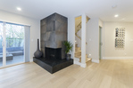 Wood Burning Fireplace at 2030 Marine Drive, Ambleside, West Vancouver