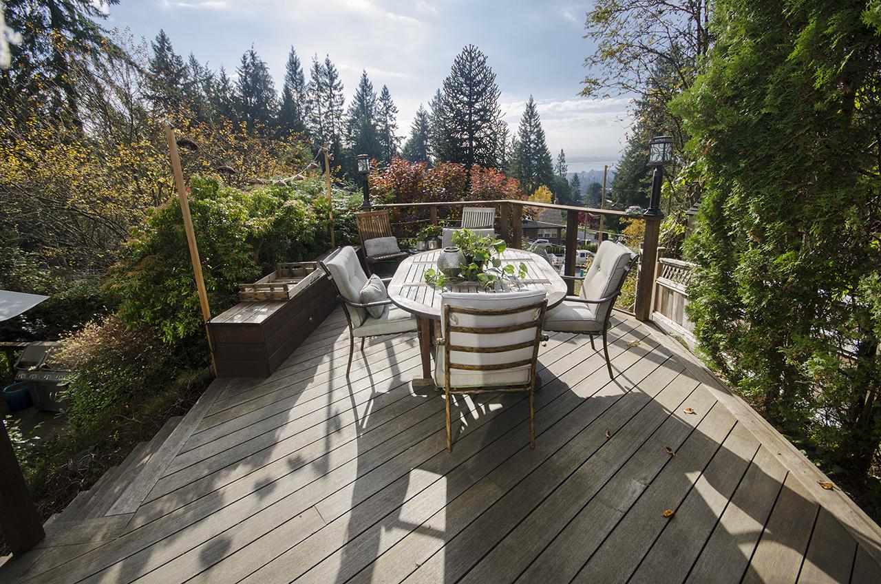 deck2 at 555 Palisade Drive, Canyon Heights NV, North Vancouver