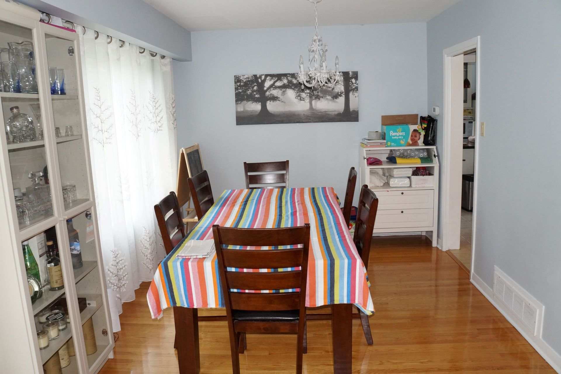 diningroom at 1 Knollview Crescent, Bayview Village, Toronto