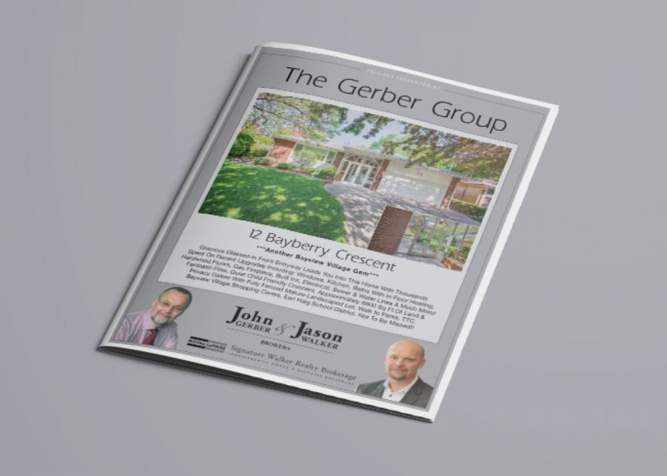Custom Property Brochures