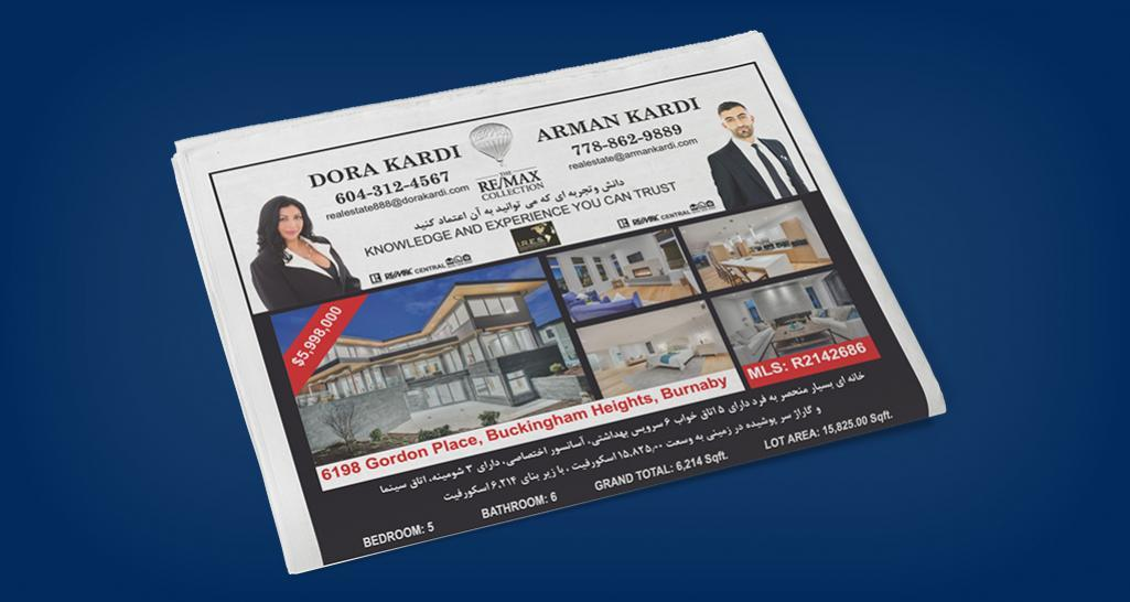 Mail-outs & Newspaper Ads