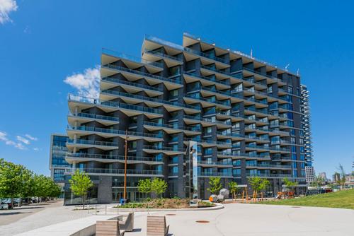 07-30-merchants-wharf at 1 & 35 Edgewater Drive, Waterfront Communities C8, Toronto