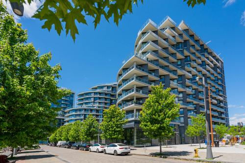 08-30-merchants-wharf at 1 & 35 Edgewater Drive, Waterfront Communities C8, Toronto