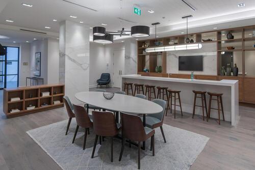 55-merchants-wharf-suite-213-large-051-046-party-room-1499x1000-72dpi at 15 Merchants' Wharf, Waterfront Communities C8, Toronto