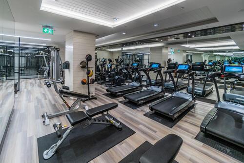 55-merchants-wharf-suite-213-large-057-044-exercise-room-1499x1000-72dpi at 15 Merchants' Wharf, Waterfront Communities C8, Toronto