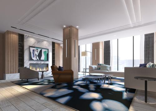 amenities-party-room1 at 118 Merchants' Wharf, Waterfront Communities C8, Toronto