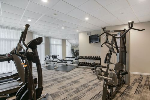 gym at #PH808 - 205 The Donway West, Banbury-Don Mills, Toronto