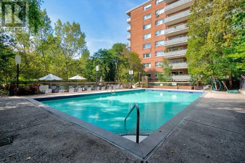 outdoor-pool at #335 - 21 Dale Avenue, Rosedale-Moore Park, Toronto