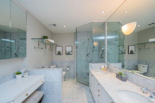 1-balmoral-avenue-suite-805-print-043-043-primary-bedroom-ensuite-4200x2806-300dpi at #805 - 1 Balmoral Avenue, Yonge-St. Clair, Toronto