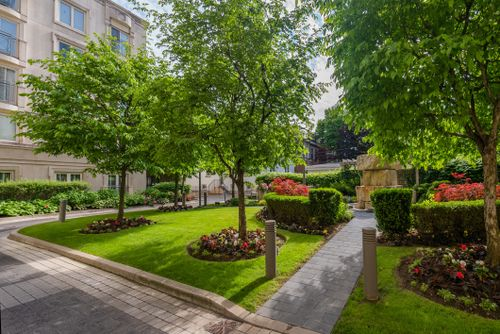 1-balmoral-avenue-suite-805-print-065-059-courtyard-4200x2806-300dpi at #805 - 1 Balmoral Avenue, Yonge-St. Clair, Toronto