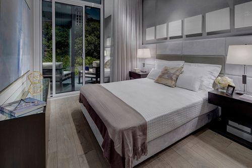 kwr-bedroom at 213 - 4208 W Dundas Street, Kingsway South, Toronto