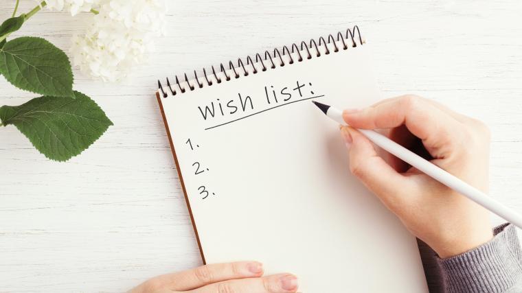 EXPLORING YOUR WISH-LIST